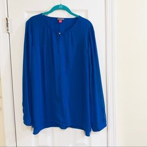 Vince Camuto Royal Blue Blouse